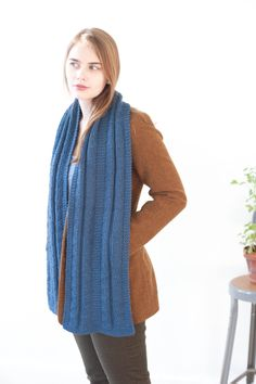 scarves, etc. 2014: keirnan by shannon cook / quince & co osprey