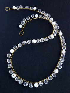 Gold hair vine Delicate headpiece tiaras Crystals gold vine