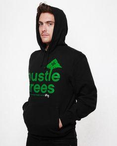 LRG Clothing Co. Men's Hustle Trees Pullover Hoodie