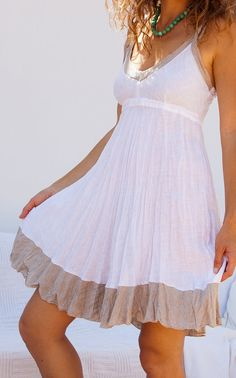 Just comfy/pretty for a destination wedding/honeymoon