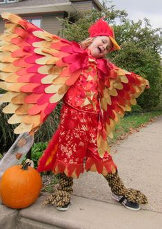 fawkes the phoenix from harry potter homemade halloween costume - Halloween Costumes In Phoenix