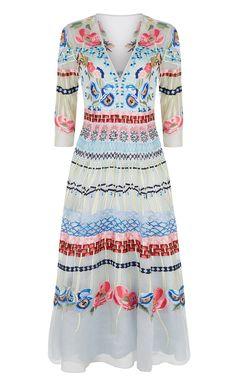 V-neck Aura Dress