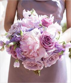 My Bouquet inspiration #purple #wedding #flowers