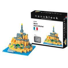 Mont Saint Michel nanoblocks