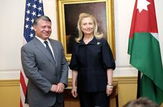 U.S. Secretary of State Hillary Rodham Clinton meets with King Abdullah II  of Jordan at the U.S. Department of State in Washington, D.C., on January  18, 2012. [State Department photo/ Public Domain]  JORDAN, Amman - The Hashemite Kingdom of Jordan, one of the Unite States'  key ally in the troubled Middle East. It is also one of more than 200 other  countries and territories across the globe that consistently receive annual  U.S. aid to help face their political and economic hardships…