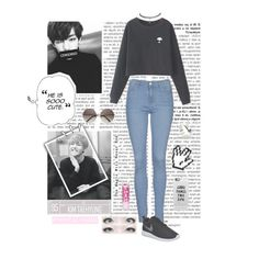 """ Alien V"" by typical-ghoul ❤ liked on Polyvore featuring Chicnova Fashion, Topshop, NIKE, Old Navy, Casetify and LØMO"