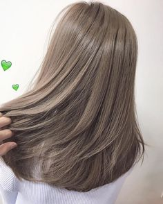 51 Gorgeous Hair Color Worth To Try This Season balayage hair color, light brown hair color ideas, h Balayage Hair, Ombre Hair, Haircolor, Ash Blonde Balayage Dark, Brunette Ombre, Brunette Hair, Ash Brown Hair Color, Cool Brown Hair, Ash Grey Hair