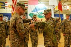 As Congress mulls America's war with the Islamic State terror group, more than 4,000 Fort Carson soldiers prepared Thursday to leave for Kuwait, where they will take over as America's largest ground force in the troubled region.  The 3rd Brigade Combat Team bid farewell to the post in a ceremony and soon will serve as U.S. Central Command's Reserve force in the Middle East - the first soldiers into battle if a major combat force is used to battle Islamic State fighters.  The unit…