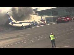 Video Kasachstan: Boeing 737-300 nach Passagierflug in Flammen | traveLink