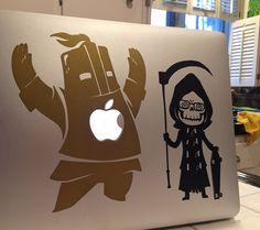 Uncle Death (Let it Die) decal on my laptop!