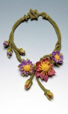 Single-Strand Necklace with Seed Beads - oh! <3 how I luv this! >3