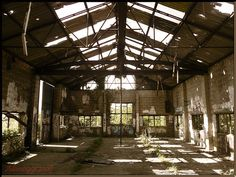 Imagine transforming this diamond in the rough! Old warehouse.