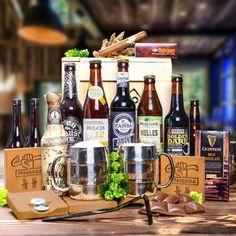 WOW Starke Männer Boxeo -Erstklassige Auswahl an speziellen Craftbieren und stylischen Bier-Zubehör. Prüfen sie seine Männlichkeit ;) Guinness, Milk, Boxing, Original Gifts, Crates, Guy Gifts