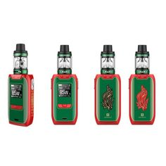 Vaporesso Revenger Mini Kit Christmas Edition features color red & green, which also comes with a Christmas Tree lighting patterns. Powered by 2500mAh built-in battery, maximum output of Revenger Mini Kit is reached to 85W.NRG SE Sub Ohm Tank supposts 3.5ml e-juice capacity.