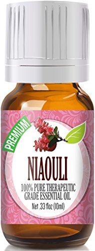 100% Pure Therapeutic Grade Niaouli Essential Oil   Botanical Name: Melaleuca quinquenervia  Comes in 10ml amber glass essential oil bottle. European Dropper Cap included.   What sets Healing So...