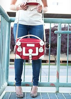 Cheeky Lime Classic Bag Red mom would love this camera bag. Maybe her Christmas gift @Jean Harper Maddox