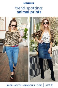 Find new outfits at kohl's. when it comes to work clothes, it's time to get a little wild. take it from jaclyn johnson who's spotted here in leopard. New Outfits, Spring Outfits, Casual Outfits, Cute Outfits, Fashion Outfits, Womens Fashion, Indie Fashion, Boy Fashion, Fashion Boots