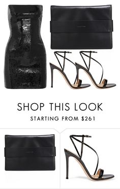 """""""saturday night fever"""" by icy-blonde ❤ liked on Polyvore featuring Kendall + Kylie, Gianvito Rossi, Yves Saint Laurent, saintlaurent, GianvitoRossi and kendallandkylie"""