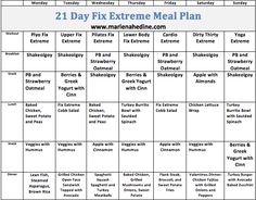 21 Day Fix Extreme is Here - Meal Plan and Prep