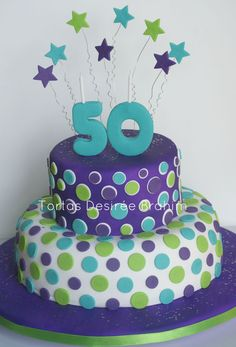 50th Birthday Party Ideas For Men, 60th Birthday Party, Birthday Cakes, Ideas Decoracion Cumpleaños, Cakes For Women, Breakfast Cake, Cute Cakes, Creative Cakes, Celebration Cakes