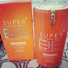 Skin79 BB Cream: Super Plus Beblesh Balm Triple Functions    http://www.beautytester.de/testbericht/skin79-bb-cream--super-plus-beblesh-balm-triple-functions_3953/