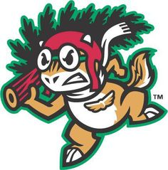 Lakewood Pine Barons logo (would have been the alternate team possibility for the Lakewood BlueClaws) Baseball Mascots, Team Mascots, Baseball Teams, Fun Illustration, Illustrations, Sports Decals, Sports Team Logos, Minor League Baseball, School Logo