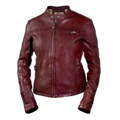 Shop for Roland Sands Maven Ladies Leather Jacket - Oxblood. Cafe style motorcycle jacket with a feminine cut from Roland Sands Design. Roland Sands, Movie Shirts, Riding Gear, Jackets For Women, Men's Jackets, Outerwear Jackets, Lady, How To Wear, Clothes