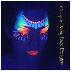 Oopsie Daisy Face Designs- UV Face Paint