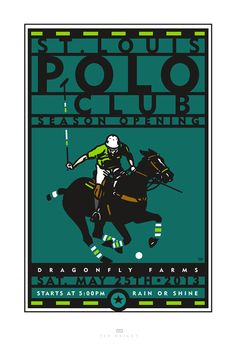 #horse event #design by Ted Wright - http://www.behance.net/TedWright