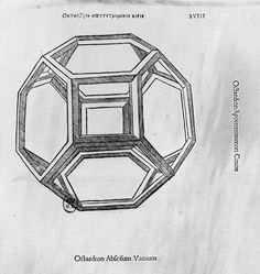 Polyhedron, From 'de Divina Proportione' By Luca Pacioli, Published 1509, Venice Giclee Print Poster by Leonardo Da Vinci Online On Sale at Wall Art Store – Posters-Print.com