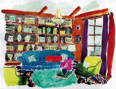 Bella Foster interior illustration