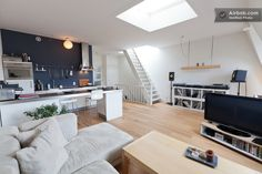 Modern apartment in perfect area  in Amsterdam from $127 per night, no wd, nice couch