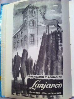 Lanjaron Spa ad 1950´s