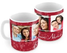 Tazza panoramica Red Christmas