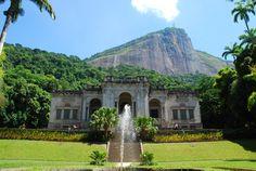 Parque Lage en Rio de Janeiro, RJ