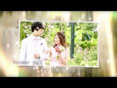 結婚式プロフィールビデオ - ヴェール(プチプラ) - YouTube                              …