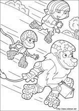 Dibujos de Dora la Exploradora para colorear.