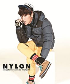 MBLAQ's Lee Joon revealed a winter photoshoot he had with fashion magazine 'Nylon'.In the photoshoot, Lee Joon swung back and forth from a mis… Asian Boys, Asian Men, Pops Concert, Interracial Love, Korean Star, Lee Joon, Korean Celebrities, Forever Young, Good Looking Men