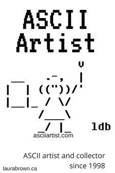 1 Line Ascii Art : ascii, Ascii, Ideas, Ascii,
