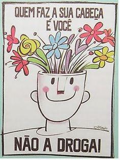 Atividades de Língua Portuguesa: Cartaz sobre as drogas