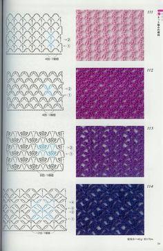 Materiales gráficos Gaby: Àlbum de puntos coleccionables para tejer en crochet