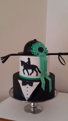 Horse Riding and Dressage Cake