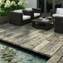 View Timberstone Replica Garden Sleepers lifestyle image 1