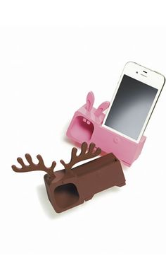 Ozaki 'O! Music Zoo – Rabbit' iPhone 4 & Stand & Amp – Electronic is Charge Iphone Stand, Cool Iphone Cases, Iphone Charger, Iphone 4, Ipod, Walpaper Black, Phone Background Patterns, Phone Gadgets, Iphone Accessories