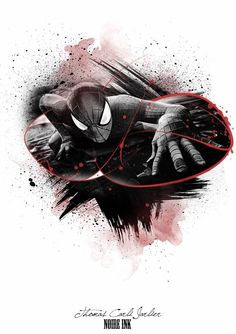 Spider-Man Design.. Ozzy Tattoo, Dc Tattoo, Tattoo Trash, Trash Polka Tattoo, Black Red Tattoo, Fantasy Tattoos, Red Tattoos, T Art, Thrasher
