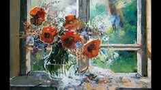 Belső terek -  Virágok -  Király Nikoletta festményei