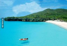 Heaven on earth? The Curaçao in the Caribbean.