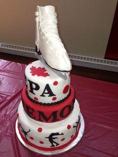 Gâteau patin /  patinage artistique 1