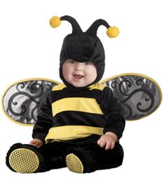 li'l stinger costume    Could baby bee any cuter than this? Hard to imagine. Slip your little one into a plush lined bodysuit with detachable wings. Hood has antennae; slip-on booties have skid-resistant bottoms. 5-pc. set. Polyester. Imported.  #26081  $49.00