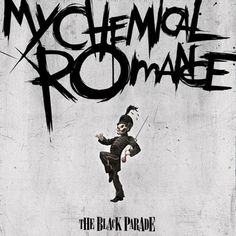 Ditching the old-fashioned 'typewriter' font used on second album 'Three Cheers For Sweet Revenge', My Chemical Romance frontman - a graduate of New York's School Of Visual Arts - designed this scratchier, angrier logo for the band's third album 'The Black Parade'.